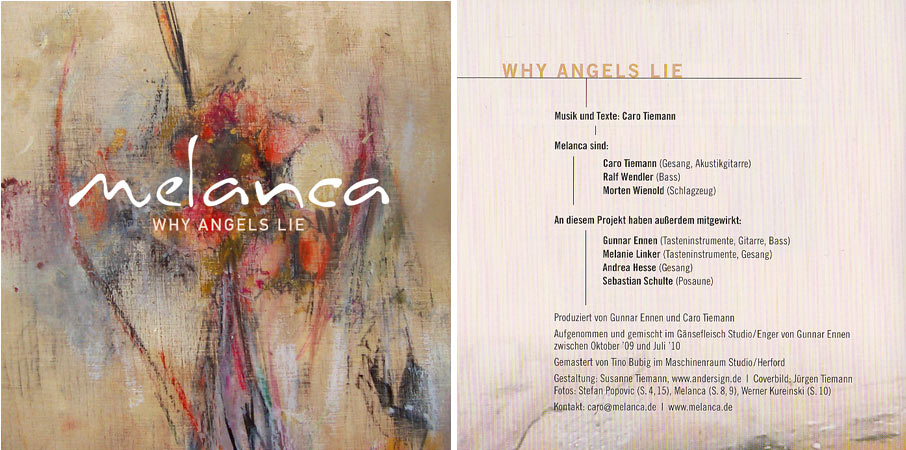 "Melanca - CD ""Why Angles Lie"""
